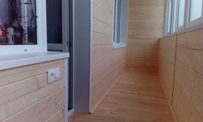 помощью декоративной отделка балкона имитация бруса фото получить нужный